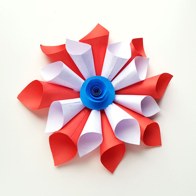 4th Of July Paper Crafts Paper 4th Of July Decorations 9 4th of july paper crafts|getfuncraft.com