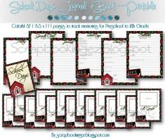 Back to school Scrapbook Ideas to Make School Days Keepsake Book Digital Scrapbooking Made Easy School