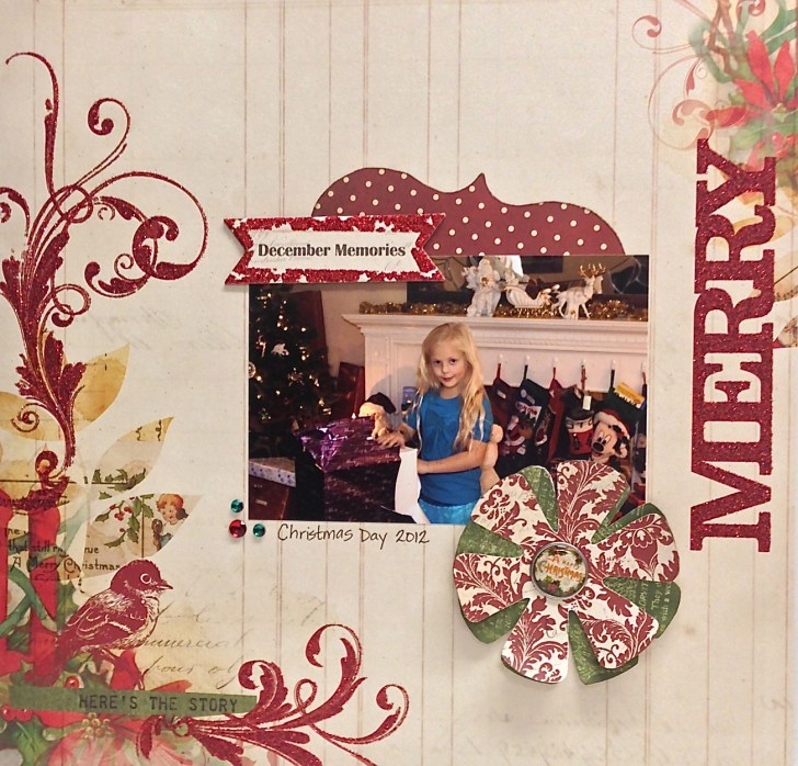 Christmas Scrapbook Layouts Ideas