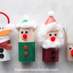 Craft Ideas For Toilet Paper Rolls Christmas Toilet Paper Roll Crafts For Kids