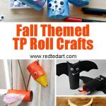 Craft Ideas For Toilet Paper Rolls Fall Tp Crafts