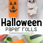 Craft Ideas For Toilet Paper Rolls Halloween Craft For Kids Halloween Toilet Paper Rolls