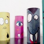 Craft Ideas For Toilet Paper Rolls Halloween Crafts For Kids Upcycled Colorful Toilet Paper Rolls Home Decoration Ideas 620x330