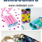 Craft Ideas For Toilet Paper Rolls Toilet Paper Roll Binoculars
