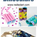 Craft Ideas For Toilet Paper Rolls Toilet Paper Roll Binoculars