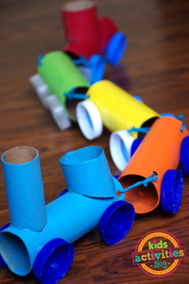 Craft Ideas For Toilet Paper Rolls Toilet Paper Roll Train Craft craft ideas for toilet paper rolls|getfuncraft.com