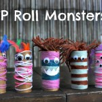 Craft Ideas For Toilet Paper Rolls Tp Roll Monsters Fun Halloween Or Monster Theme Craft For Kids