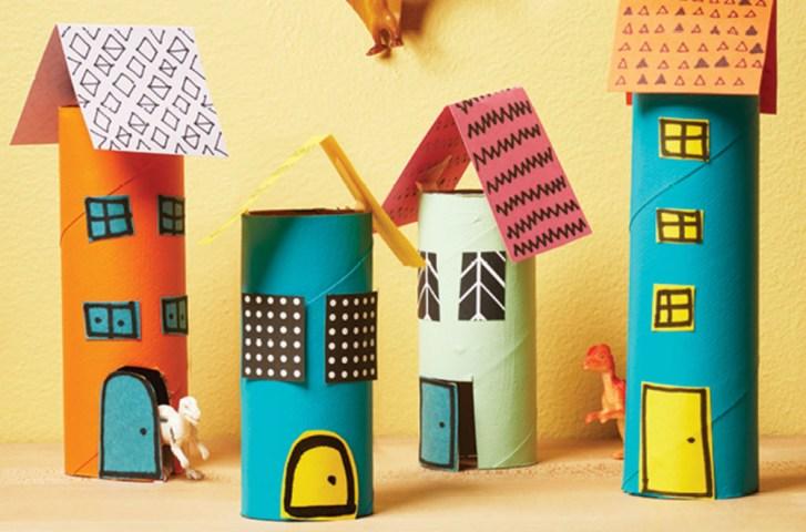Creative Craft Ideas Toilet Paper Rolls