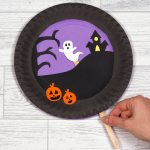 Craft Ideas Using Paper Plates K277 Halloween Paper Plates Main 2
