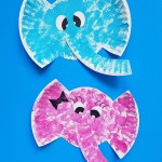 Craft Ideas Using Paper Plates Paper Plate Elephant Craft For Kids