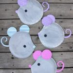 Craft Ideas Using Paper Plates Paper Plate Mouse E1462409695678