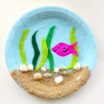Craft Ideas Using Paper Plates Under The Sea Paper Plate Craft E1462410297280