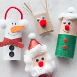 Crafts From Toilet Paper Rolls Christmas Toilet Paper Roll Crafts crafts from toilet paper rolls|getfuncraft.com