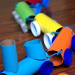 Crafts From Toilet Paper Rolls Toilet Paper Roll Train Craft crafts from toilet paper rolls|getfuncraft.com