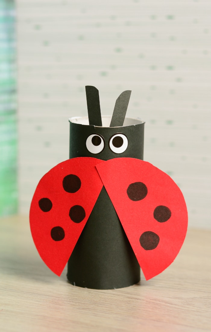Crafts With Toilet Paper Rolls Toilet Paper Roll Ladybug crafts with toilet paper rolls |getfuncraft.com