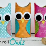 Crafts With Toilet Paper Rolls Toilet Paper Roll Owls crafts with toilet paper rolls |getfuncraft.com