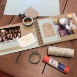 Creative Relationship Scrapbook Ideas How To Make A Diy Bridesmaid Proposal Scrapbook