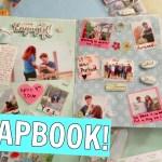 Creative Relationship Scrapbook Ideas My Diy Anniversary Scrapbooks Scrapbooking Process Vlogmas Day 20