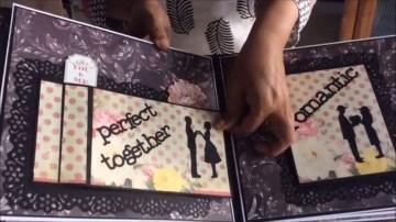 Creative Relationship Scrapbook Ideas Romantic Scrapbook Diy Cutest Birthday Scrapbook Ideas Handmade Love Scrapbook For Someone Special