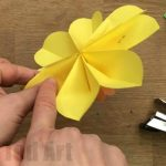 Flower From Paper Craft Diy 3d Flowers 600x400