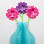 Flower From Paper Craft Easy Paper Flower Craft