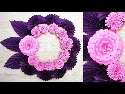 Flower From Paper Craft Hqdefault flower from paper craft getfuncraft.com