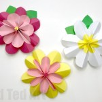 Flower From Paper Craft Paper Flowers