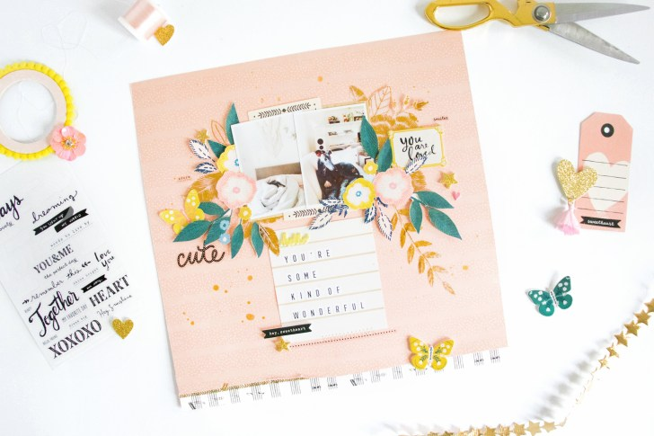 How to Make DIY Scrapbooking Layouts Friends