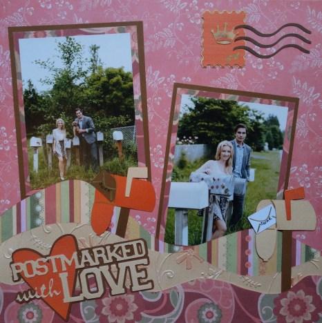 Lovable Couple Scrapbook Pages Ideas Wedding Scrapbook 5 Engagement Me And My Cricut