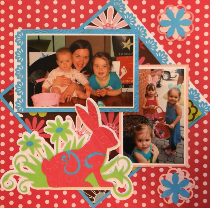 Most Important Elements on Easter Scrapbook Pages
