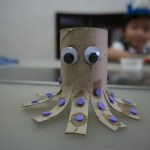 Octopus Toilet Paper Roll Craft Toilet Paper Roll Octopus octopus toilet paper roll craft getfuncraft.com