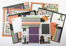 Ornaments to Apply on Halloween Scrapbook Pages Artsy Albums Mini Album And Page Layout Kits And Custom Designed