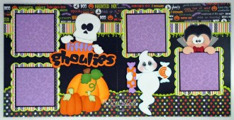 Ornaments to Apply on Halloween Scrapbook Pages Blj Graves Studio Little Ghoulies Halloween Scrapbook Pages