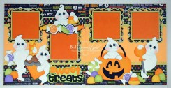 Ornaments to Apply on Halloween Scrapbook Pages Blj Graves Studio Sweet Treats Halloween Scrapbook Pages