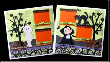Ornaments to Apply on Halloween Scrapbook Pages Good Halloween Scrapbook Layout Ideas
