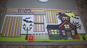 Ornaments to Apply on Halloween Scrapbook Pages Happy Halloween Scrapbook Layout Episode 159