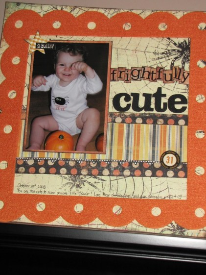 Ornaments to Apply on Halloween Scrapbook Pages Scrapbook Saturday No 9 Finishing The Unfinished Clean And