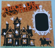 Ornaments to Apply on Halloween Scrapbook Pages Una Crafting Halloween Scrapbook Pages