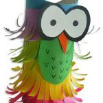 Owl Craft Toilet Paper Roll 11 Homemade Halloween Owl Craft