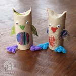 Owl Craft Toilet Paper Roll Owls Finished Square2aa
