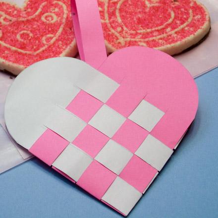 Paper Bag Valentine Crafts Heartbasketcookies440 paper bag valentine crafts  getfuncraft.com