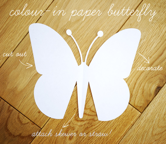 Paper Butterfly Craft