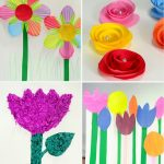 Paper Craft For Kids Flowers 25 Gorgeous Paper Flowers For Kids Craft Ideas 1 624x702