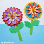 Paper Craft For Kids Flowers Paper Craft For Kids Make Whimsical Flowers Out Of Paper Mynourishedhome