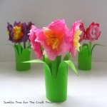 Paper Craft For Kids Flowers Posysquare2 1