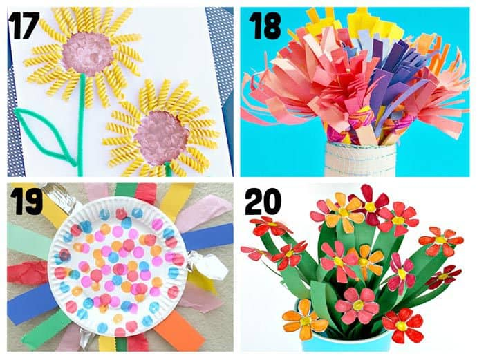 Paper Craft For Kids Flowers Round Up Collage 17 20 paper craft for kids flowers|getfuncraft.com
