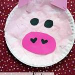 Paper Plate Pig Craft Paper Plate Pig Kid Craft Gluedtomycrafts paper plate pig craft getfuncraft.com