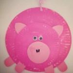 Paper Plate Pig Craft Paper Plate Piggy