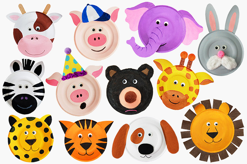 Paper Plate Pig Craft Paperplateanimals Main paper plate pig craft|getfuncraft.com