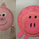 Paper Plate Pig Craft Pig Paper Plate Craft paper plate pig craft|getfuncraft.com